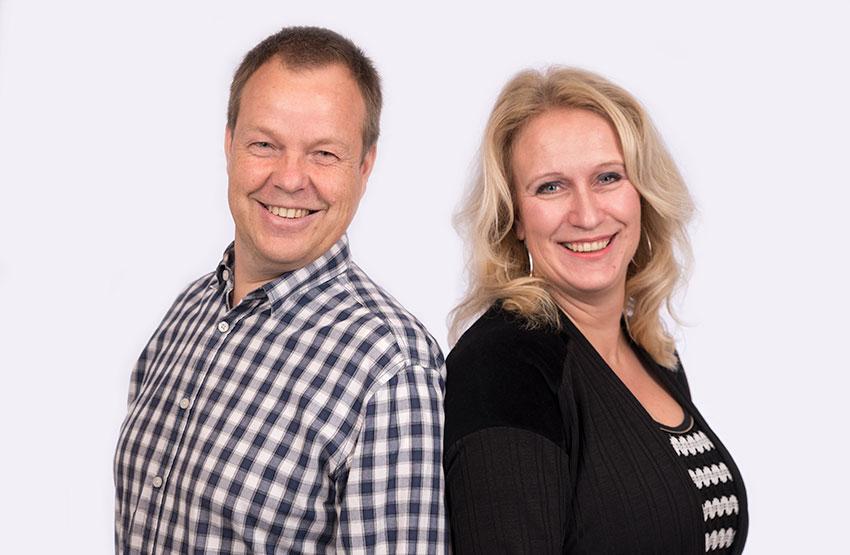 Rob Verkerke & Edith Groenendaal